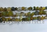 CNG8101 15.5 inches 6*8mm - 10*12mm agate gemstone chips beads