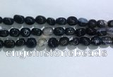 CNG8126 15.5 inches 8*12mm nuggets agate beads wholesale
