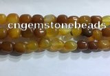 CNG8151 15.5 inches 10*14mm nuggets agate beads wholesale