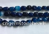 CNG8156 15.5 inches 10*14mm nuggets agate beads wholesale