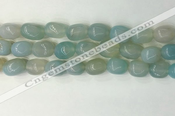 CNG8211 15.5 inches 12*16mm nuggets agate beads wholesale