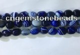 CNG8230 15.5 inches 12*16mm nuggets striped agate beads wholesale