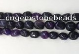 CNG8247 15.5 inches 13*18mm nuggets agate beads wholesale