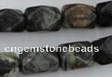CNG840 15.5 inches 13*18mm faceted nuggets picasso jasper beads