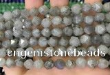 CNG8716 15.5 inches 8mm faceted nuggets labradorite gemstone beads