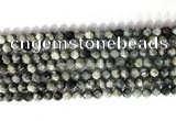 CNG9067 15.5 inches 6mm faceted nuggets eagle eye jasper gemstone beads