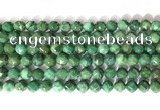 CNG9098 15.5 inches 8mm faceted nuggets African jade beads