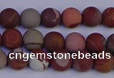 CNJ301 15.5 inches 6mm round matte noreena jasper beads wholesale