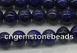 CNL1001 15.5 inches 6mm round A grade natural lapis lazuli beads