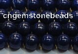 CNL1053 15.5 inches 7.5mm - 8mm round A grade natural lapis lazuli beads