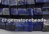 CNL1100 15.5 inches 6*6mm cube lapis lazuli gemstone beads