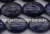 CNL1121 15.5 inches 15*20mm oval lapis lazuli gemstone beads