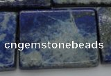 CNL1148 15.5 inches 27*37mm rectangle lapis lazuli gemstone beads