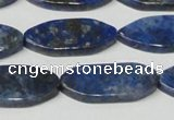 CNL1296 15.5 inches 14*30mm marquise natural lapis lazuli beads
