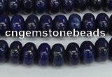 CNL1501 15.5 inches 5*8mm rondelle lapis lazuli beads wholesale