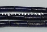 CNL1508 15.5 inches 4*12mm tube lapis lazuli beads wholesale