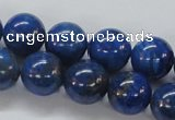 CNL229 15.5 inches 14mm round natural lapis lazuli beads wholesale