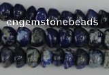 CNL436 15.5 inches 7*9mm bread natural lapis lazuli gemstone beads