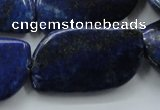 CNL650 15.5 inches 21*38mm marquise natural lapis lazuli beads