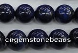CNL855 15.5 inches 14mm round natural lapis lazuli gemstone beads