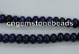 CNL861 15.5 inches 4*6mm rondelle natural lapis lazuli gemstone beads
