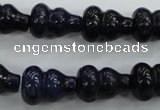 CNL916 15.5 inches 12*16mm calabash natural lapis lazuli beads