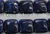 CNL964 15.5 inches 16*16mm square natural lapis lazuli gemstone beads