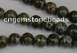 CNS501 15.5 inches 6mm round natural serpentine jasper beads