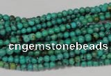 CNT203 15.5 inches 3mm round natural turquoise beads wholesale