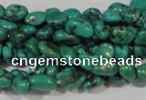 CNT241 15.5 inches 4*5mm - 5*8mm nuggets natural turquoise beads