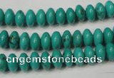 CNT361 15.5 inches 5*8mm rondelle turquoise beads wholesale