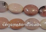 COP1024 15.5 inches 13*18mm oval natural pink opal gemstone beads