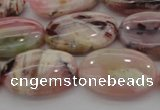 COP1275 15.5 inches 13*18mm oval natural pink opal gemstone beads