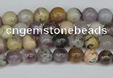 COP1510 15.5 inches 4mm round amethyst sage opal beads wholesale