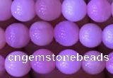 COP1526 15.5 inches 5.5mm round natural pink opal gemstone beads