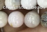 COP1542 15.5 inches 8mm round AB-color natural pink opal beads