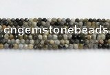 COP1608 15.5 inches 4mm faceted round moss opal beads