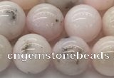 COP1704 15.5 inches 10mm round natural pink opal gemstone beads
