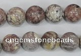 COT04 15.5 inches 14mm round osmanthus stone beads wholesale