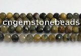CPB1079 15.5 inches 12mm faceted round natural pietersite beads
