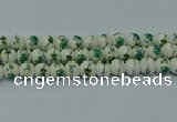 CPB583 15.5 inches 10mm round Painted porcelain beads