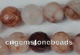 CPQ68 15.5 inches 16mm faceted round natural pink quartz beads
