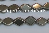 CPY652 15.5 inches 8*10mm pyrite gemstone beads wholesale