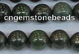 CPY765 15.5 inches 14mm round pyrite gemstone beads wholesale