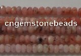 CRB110 15.5 inches 2.5*4mm faceted rondelle opal gemstone beads