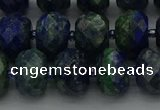 CRB1454 15.5 inches 8*10mm faceted rondelle chrysocolla beads