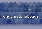 CRB1890 15.5 inches 2*3mm faceted rondelle aquamarine beads