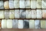 CRB2558 15.5 inches 2*4mm heishe crazy lace agate beads wholesale