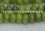 CRB2837 15.5 inches 6*10mm rondelle Chinese chrysoprase beads