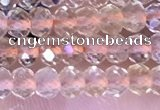 CRB3147 15.5 inches 2.5*4mm faceted rondelle tiny citrine beads